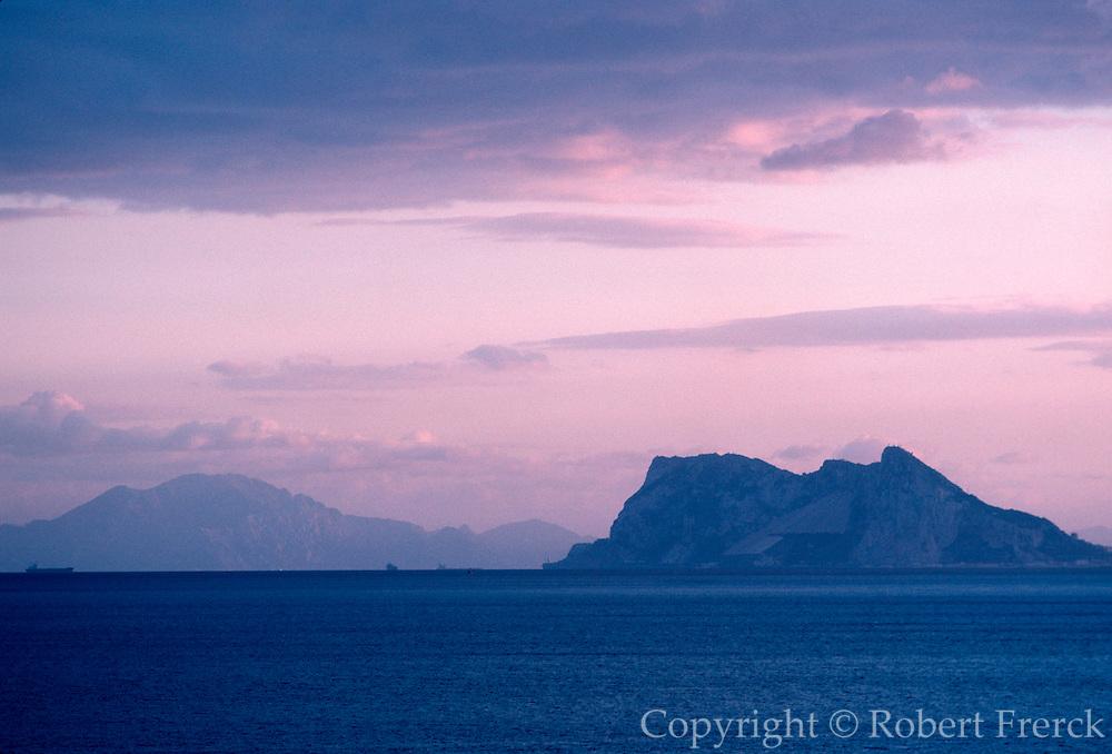 SPAIN, COSTA DEL SOL Gibraltar Strait, Pillars of Hercules
