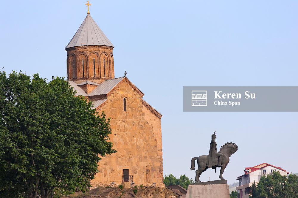 Metekhi Church, Tbilisi, Georgia