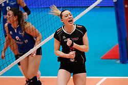 20180218 NED: Bekerfinale Eurosped - Sliedrecht Sport, Hoogeveen <br />Laura Beach (9) of Team Eurosped<br />©2018-FotoHoogendoorn.nl
