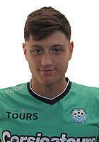 Gregoire Coudert during the during photoshooting of Tours FC for new season 2017/2018 on October 5, 2017 in Tours, France<br /> Photo : Tours FC / Icon Sport