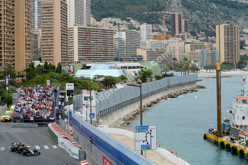 Kevin Magnussen (Haas-Ferrari) during the 2019 Monaco Grand Prix. Photo: Grand Prix Photo