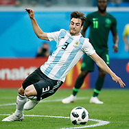Argentina defender Nicolas Tagliafico during the 2018 FIFA World Cup Russia, Group D football match between Nigeria and Argentina on June 26, 2018 at Saint Petersburg Stadium in Saint Petersburg, Russia - Photo Stanley Gontha / Pro Shots / ProSportsImages / DPPI