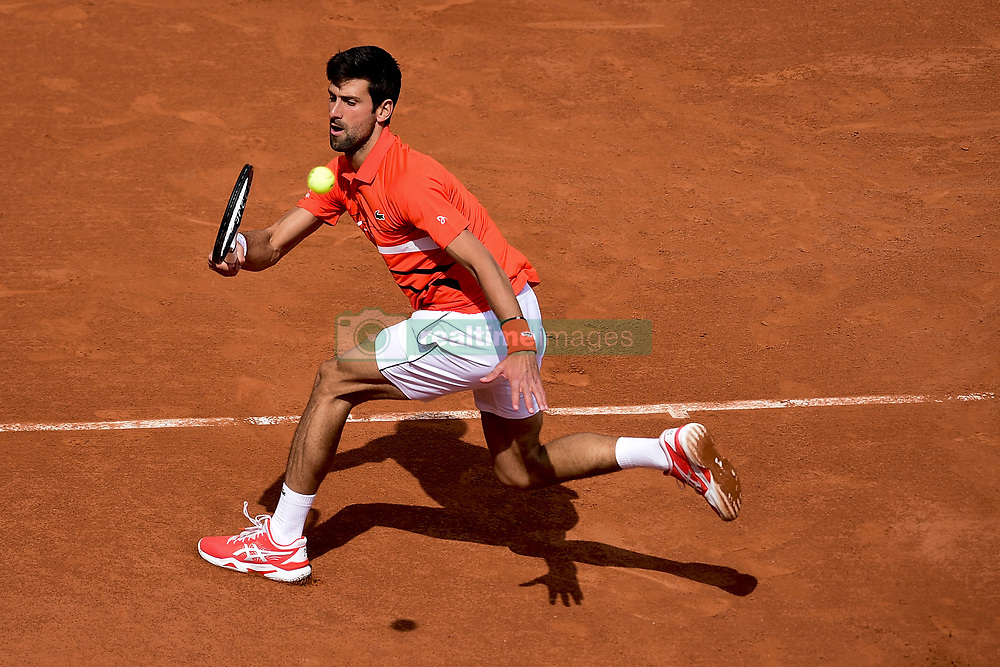May 27, 2019 - Paris, France, FRANCE - Novak Djokovic  (Credit Image: © Panoramic via ZUMA Press)