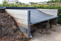 Reference shot of compost bins at Holt Farm