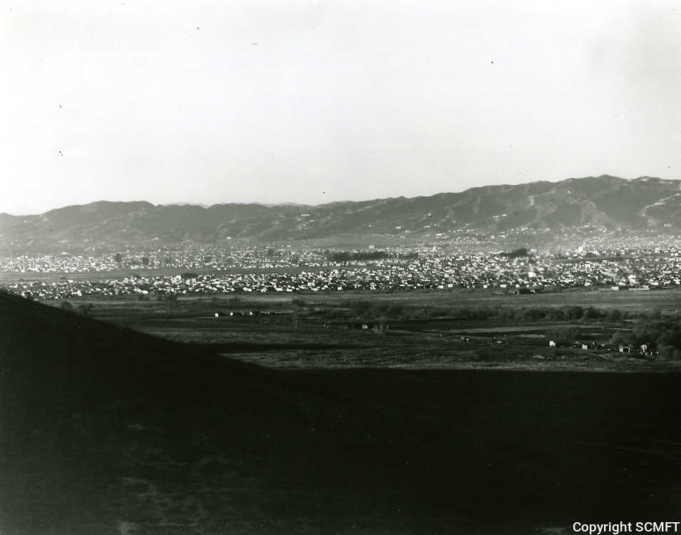 1924 Panorama of San Fernando Valley