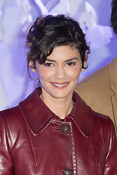 Audrey Tautou at the opening of Christmas decorations at Les Galeries Lafayette Store in Paris, France on november 8th 2016. Photo by Nasser Berzane/ABACAPRESS.COM    570481_025 Paris France