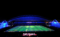 Fotball , 12. februar 2012 finale Afrika-mesterskapet<br /> Zambia - Elfenbenskysten<br /> illustrasjon finalearena  - Zambie Football : Zambie / Cote d Ivoire - Finale - Coupe d Afrique des Nations<br /> <br /> Norway only