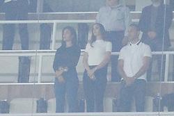 Georgina Rodriguez watches her boyfriend, Cristiano Ronaldo play in Madrid. 20 Sep 2017 Pictured: Georgina Rodriguez. Photo credit: Jack G / MEGA TheMegaAgency.com +1 888 505 6342