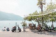 iTALY, ISEO LAKE, Monte Isola,  risotrante Dorada