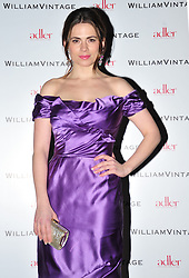 © Licensed to London News Pictures. 10/02/2012. London, England. Hayley Atwell attends a private dinner ahead of sundays Bafta awards hosted by William Banks-Blaney of WilliamVintage and actress Gillian Anderson at St Pancras Renaissance Hotel London  Photo credit : ALAN ROXBOROUGH/LNP