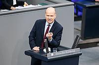 11 FEB 2021, BERLIN/GERMANY:<br /> Ralph Brinkhaus, MdB, CDu, CDU/CSU Fraktionsvorsitzender, haelt eine Rede, Debatte nach der  Regierungserklaerung der Bundeskanzlerin zur Bewaeltigung der Corvid-19-Pandemie, Plenum, Reichstagsgebaeude, Deutscher Bundestag<br /> IMAGE: 20210211-01-087<br /> KEYWORDS: Corona