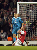 Photo: Olly Greenwood.<br />Arsenal v PSV Eindhoven. UEFA Champions League. Last 16, 2nd Leg. 07/03/2007. Arsenal's Julio Baptista misses a great chance to score