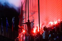 September 13, 2017 - Maribor, Slovenia, Slovenia - Funs of Spartak Moskva during the UEFA Champions League Group E match between NK Maribor and Spartak Moskva at Stadion Ljudski Vrt adio on September 13, 2017 in Maribor, Slovenia. (Credit Image: © Damjan Zibert/NurPhoto via ZUMA Press)