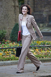 © licensed to London News Pictures. London, UK 29/10/2013. Theresa Villiers, Northern Ireland Secretary attending to a cabinet meeting in Downing Street on Tuesday, 29 October 2013. Photo credit: Tolga Akmen/LNP