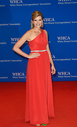 Kate Snow arrives for the White House Correspondents' Association (WHCA) dinner in Washington, D.C., on Saturday, April 29, 2017 (Photo by Riccardo Savi)  *** Please Use Credit from Credit Field ***