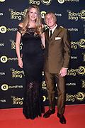 Uitreiking Gouden Televizier-Ring Gala 2018.<br /> <br /> OP de foto:  Annemieke Schollaardt en partner Phil Tilli