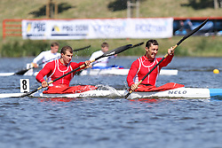 06.05.2011, Posen, POL, ICF CANOE SPRINT WORLD CUP, im Bild NZ K2 1000 MEN STANOJEVIC DUSAN, PAJIC DEJAN (SRB), EXPA Pictures © 2011, PhotoCredit: EXPA/ Newspix/ CYFRASPORT/ KATARZYNA PLEWCZYNSKA +++++ ATTENTION - FOR AUSTRIA/ AUT, SLOVENIA/ SLO, SERBIA/ SRB an CROATIA/ CRO, SWISS/ SUI and SWEDEN/ SWE CLIENT ONLY +++++