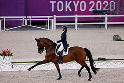 Losos de Muniz Yvonne, DOM, Aquamarijn, 122<br /> Olympic Games Tokyo 2021<br /> © Hippo Foto - Dirk Caremans<br /> 24/07/2021