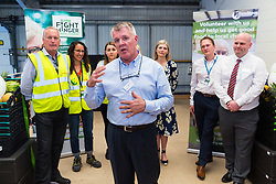 XXX at the opening of FareShare's relocated warehouse in Ashford, Kent. Ashford, Kent, May 23 2019.