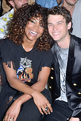 Gabrielle Union and Brandon Flynn attending the Balmain show during the Paris Men's fashion Week Spring Summer 2018, in Paris, France on june 24, 2017. Photo by Aurore Marechal/ABACAPRESS.COM