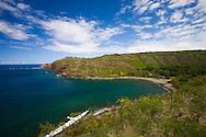 Honokohau Bay on West Maui's rugged North Shore