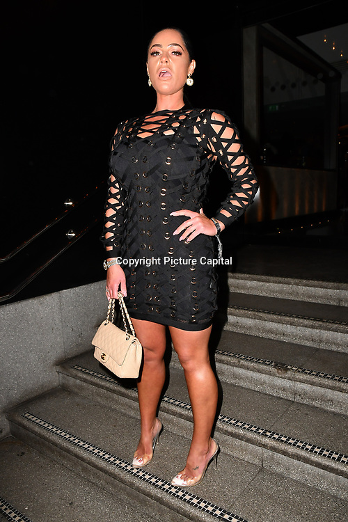 Tracey Leanne attend TMA Talent Management Group host launch party for their new dating app, The List at 100 Wardour Street  on 3rd April 2019, London, UK.