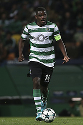 November 22, 2017 - Lisbon, Portugal - Sporting's midfielder William Carvalho during the UEFA Champions League group D match between Sporting CP and Olympiacos FC at Alvalade Stadium on November 22, 2017 in Lisboa, Portugal. (Filipe Amorim / Nurphoto) (Credit Image: © Filipe Amorim/NurPhoto via ZUMA Press)