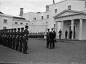 1967 - New Swedish Ambassador to Ireland presents his credentials To President Eamon de Valera