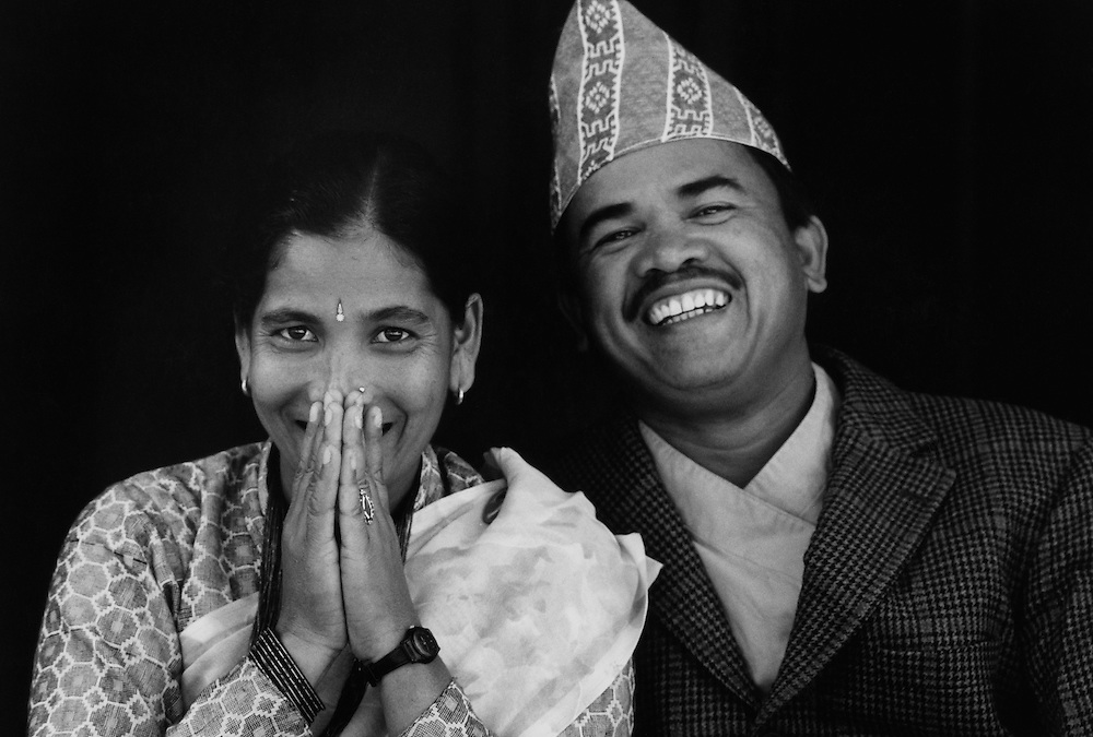 Nepalese couple Prem Singh and Bisna Davi Sarki, along with their extended family, have received a Habitat house in the United States.
