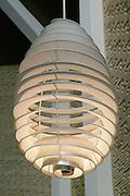 Pendant Lamp in the Main Hall, University of Aarhus set in the University Park designed by C.F. Moller Architect & Søren Jensen Engineer