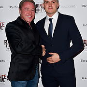 Michael Flatley and Glen Kirby attend Blackbird - World Premiere with Michael Flatley at May Fair Hotel, London, UK. 28th September 2018.