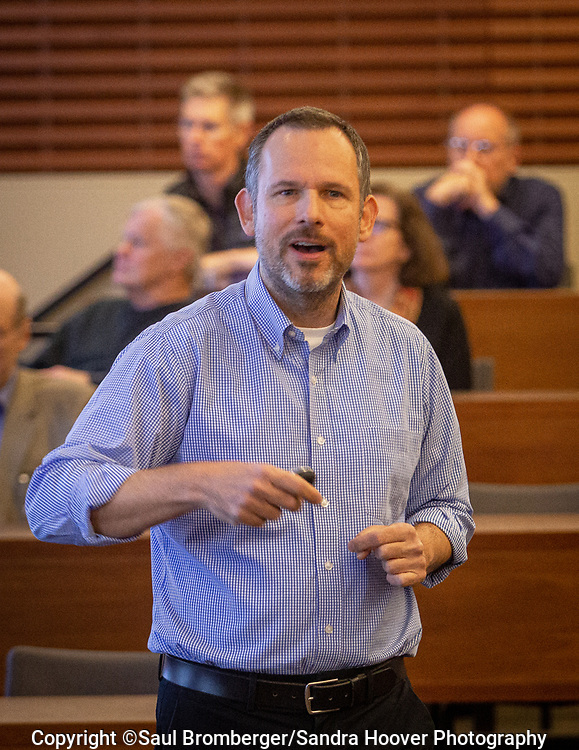 Photography of Faculty event at the Stanford GSB on 11.12.2019.