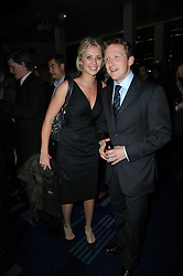 HOLLY BRANSON and OLIVER HICKS at the premier of Tenacity on the Tasman at the Odeon Leicester Square, London on 19th November 2009.