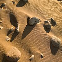 patterns in windblown sand, Molokai, Kalaupapa