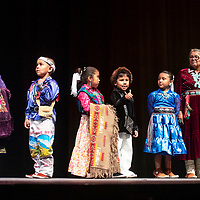 The contestants in the Tiny Tot Pageant and the Best Dressed Grandmas at El Morro Theatre, Monday, August 6, 2018.