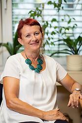 Portrait of prof. dr. Sonja Pecjak,  Professor (Full) of University of Ljubljana, Filozofska fakulteta, Oddelek za psihologijo, on September 18, 2020 in Ljubljana, Slovenia. Photo by Vid Ponikvar / Sportida