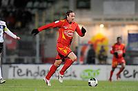 FOOTBALL - FRENCH CHAMPIONSHIP 2010/2011 - L2 - LE MANS FC v VANNES OC - 21/12/2010 - PHOTO JEAN MARIE HERVIO / DPPI - THORSTEIN HELSTAD (MANS)