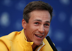 Team Europe's Thorbjorn Olesen during preview day four of the Ryder Cup at Le Golf National, Saint-Quentin-en-Yvelines, Paris. PRESS ASSOCIATION Photo. Picture date: Thursday September 27, 2018. See PA story GOLF Ryder. Photo credit should read: David Davies/PA Wire. RESTRICTIONS: Editorial use only. No commercial use.