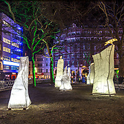 Lumiere London: il festival delle intallazioni luminose edizione 2018<br />