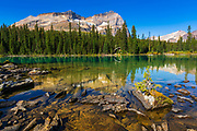 Mount Odaray above Lake O'hara, Yoho National Park, British Columbia, Canada