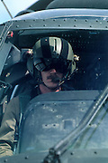 Pilot of UH-60A Black Hawk, Army