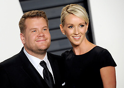 James Corden arrives at the 2016 Vanity Fair Oscar Party Hosted By Graydon Carter at Wallis Annenberg Center for the Performing Arts on February 28, 2016 in Beverly Hills, California. EXPA Pictures © 2016, PhotoCredit: EXPA/ Photoshot/ Dennis Van Tine<br /><br />*****ATTENTION - for AUT, SLO, CRO, SRB, BIH, MAZ only*****
