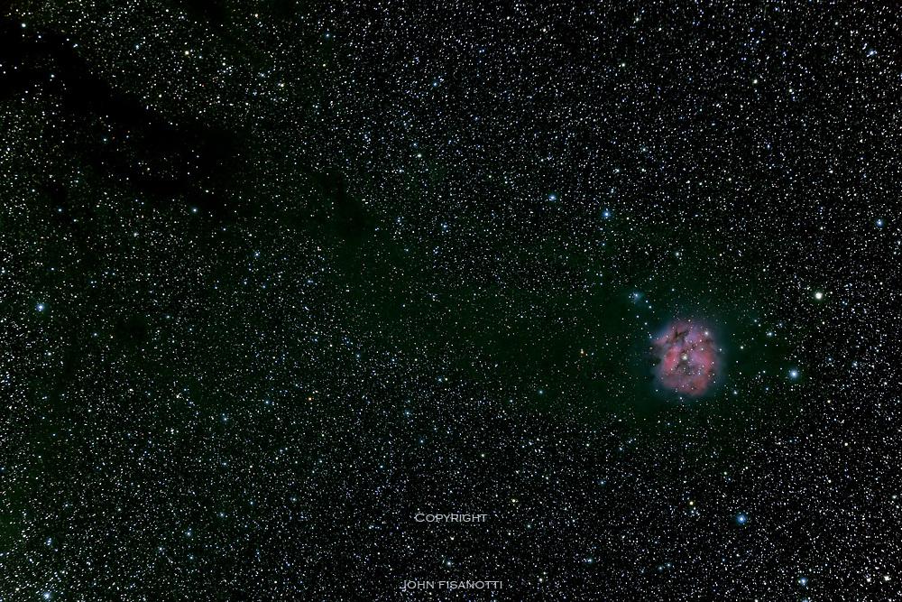 IC 5146 and B 168 in Cygnus