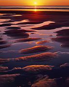 Sunset at McClures Beach,Phillip Burton Wilderness, Point Reyes National Seashore, California