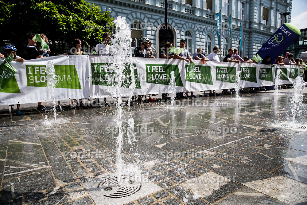 I feel Slovenia during Stage 3 of 24th Tour of Slovenia 2017 / Tour de Slovenie from Celje to Rogla (167,7 km) cycling race on June 16, 2017 in Slovenia. Photo by Vid Ponikvar / Sportida