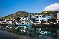 Dogashima, fishing village, Izu Pinensula, Japan
