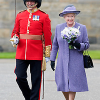 Edinburgh Scotland, June 30th  Her Majesty Queen Elizabeth II at  the traditional Ceremony of the Keys that marks the beginning of her Holyrood Week