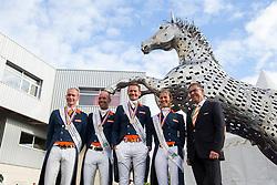 Team NED - Grand Prix Team Competition Dressage - Alltech FEI World Equestrian Games™ 2014 - Normandy, France.<br /> © Hippo Foto Team - Leanjo de Koster<br /> 25/06/14