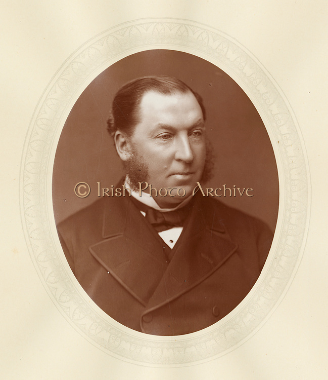 'James Charles Mathew (1830-1908) c1880, Irish born barrister, Judge of the Queen's Bench1881-1901 and Lord Justice of Appeal 1901-1906.'