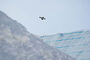 Max Parrot, Canada, during the mens snowboard slopestyle finals at the Pyeongchang Winter Olympics on the 11th February 2018 in Phoenix Snow Park in South Korea